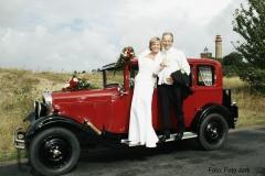 Alt-Bild: Hochzeitsfahrt am Kap Arkona