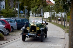 Alt-Bild: Hochzeitsfahrt in Binz