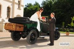 Alt-Bild: Hochzeit in Ralswiek