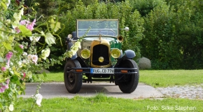 Alt-Bild: Oldtimer Cabriolet Citröen B12