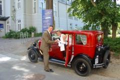 Alt-Bild: Hochzeit in Göhren