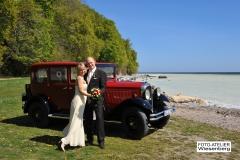 Alt-Bild: Hochzeitsfahrt nach Sassnitz