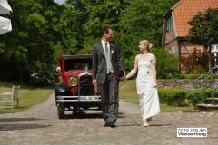 Alt-Bild: Hochzeitsfahrt auf Rügen
