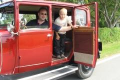 Alt-Bild: Ausflug mit der Limousine