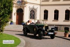 Alt-Bild: Hochzeitsfahrt Schloss Ralswiek