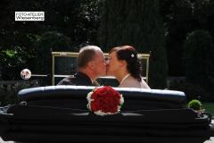 Alt-Bild: Hochzeitsfahrt mit dem Cabriolet