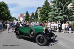 Alt-Bild: Festumzug 125 Jahre Ostseebad Binz
