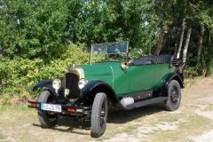 Alt-Bild: Oldtimer-Cabriolet Citröen B12