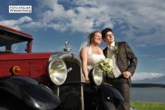 Hochzeitsfahrt auf Rügen